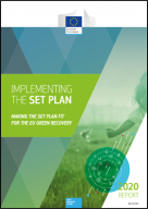SET Plan progress report 2020 cover